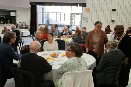Participants au souper-bénéfice